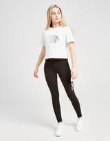 The North Face Girls' Crop Foil T-Shirt Junior