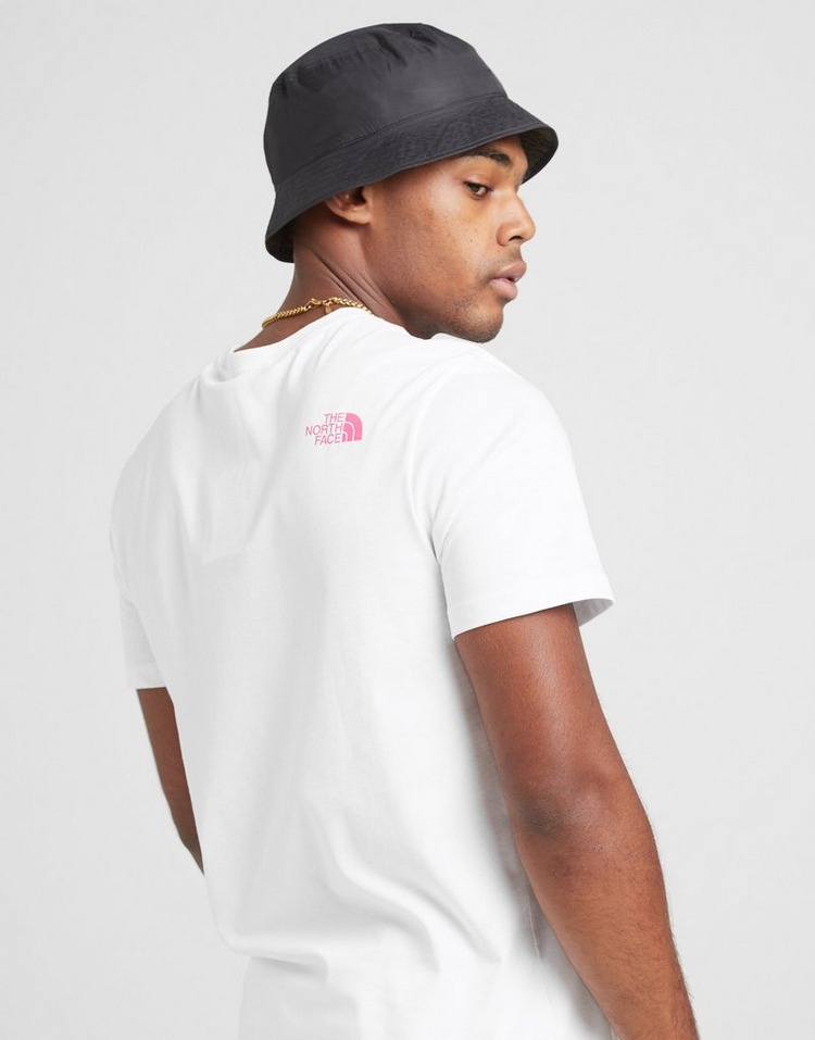 The North Face camiseta Text Large Logo