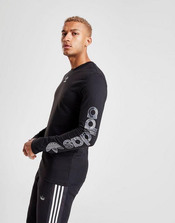 adidas Originals Camo Long Sleeve QQR T-Shirt