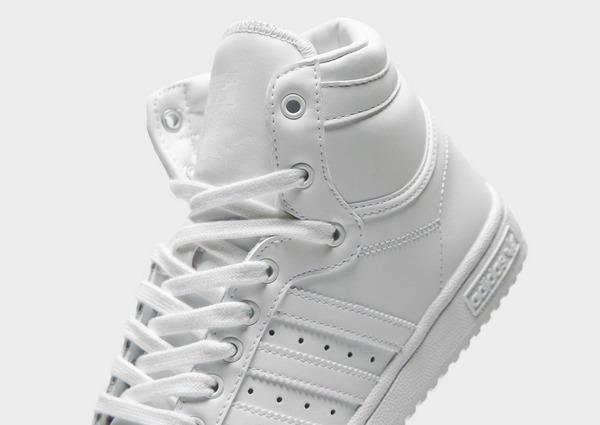 Compra adidas Originals Top Ten Hi para mujer en Blanco | JD ...