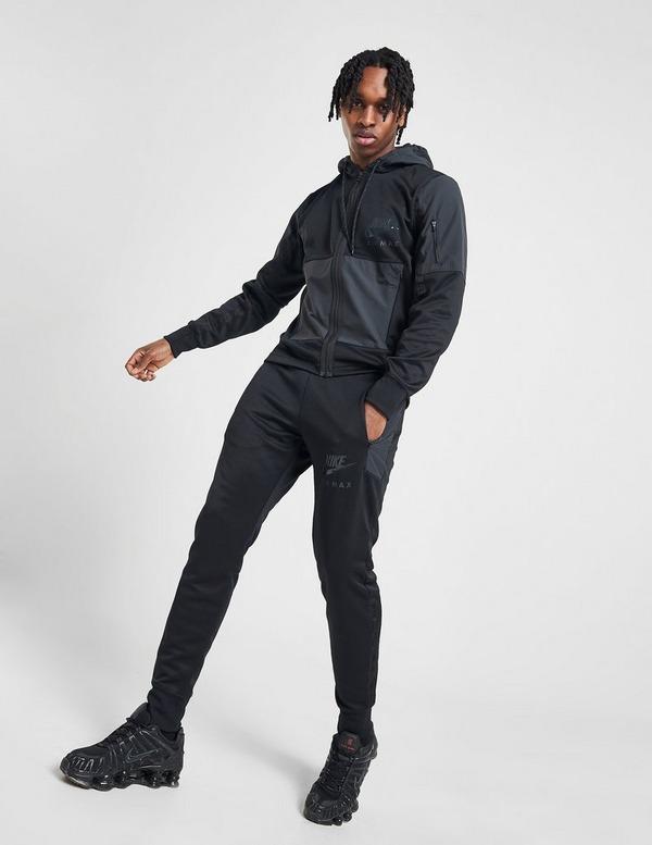 Køb Nike Air Max Full Zip Hoodie Herre i Sort | JD Sports