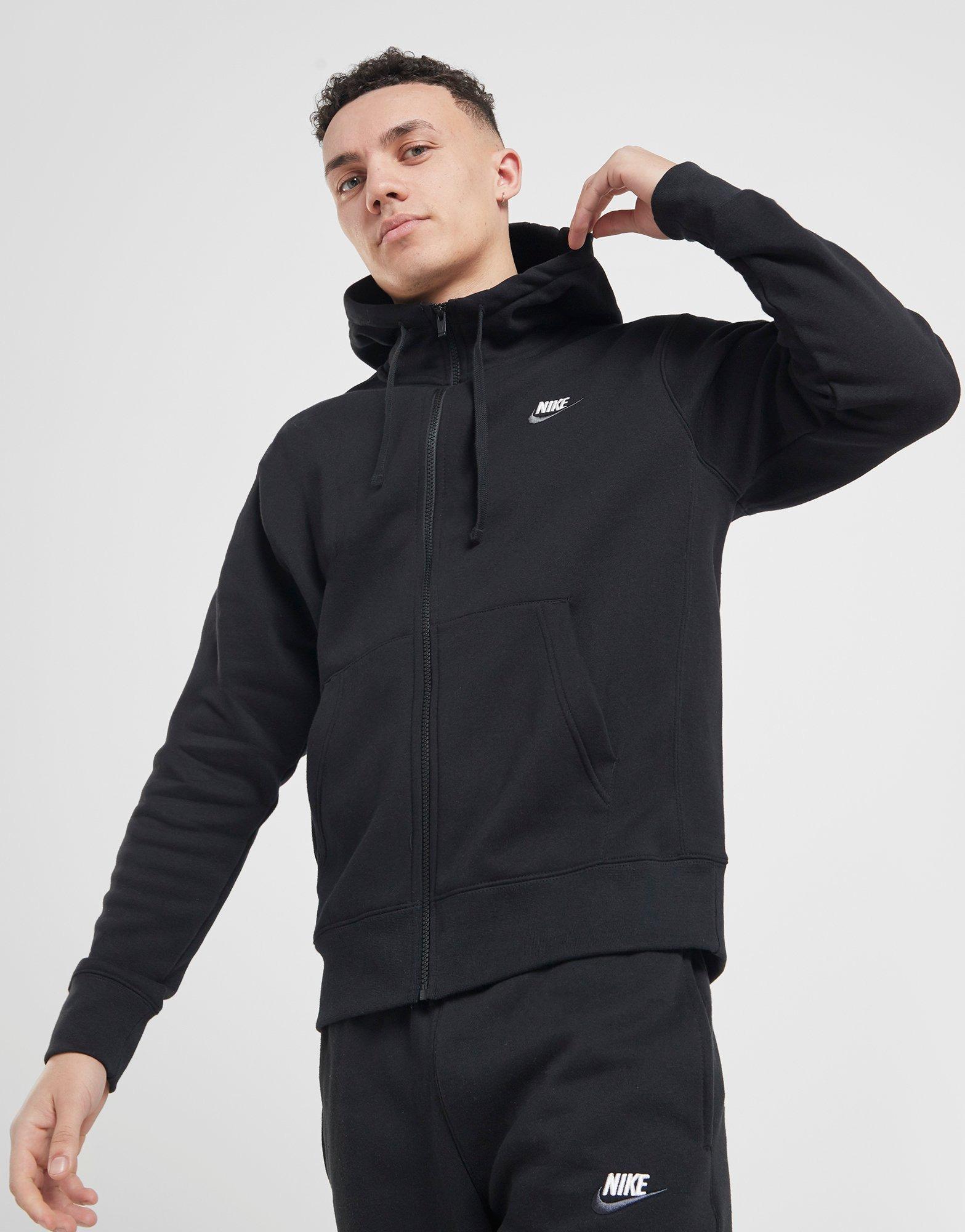 Acheter White Nike Sweat à Capuche Foundation 12 Zippé