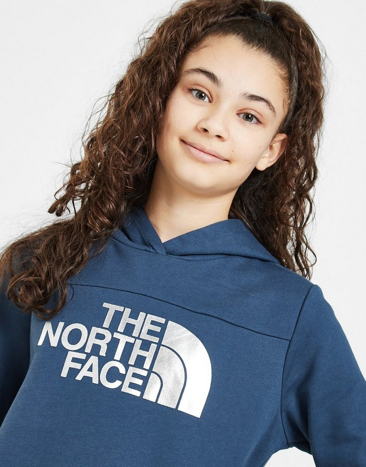 The North Face Girls' Logo Crop Hoodie Junior
