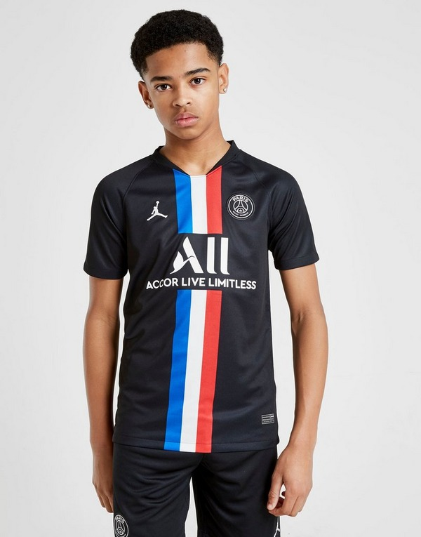 Jordan x Paris Saint Germain 2020 Fourth Shirt Jnr