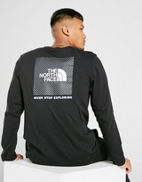 The North Face Long Sleeve All Over Print Redbox T-Shirt