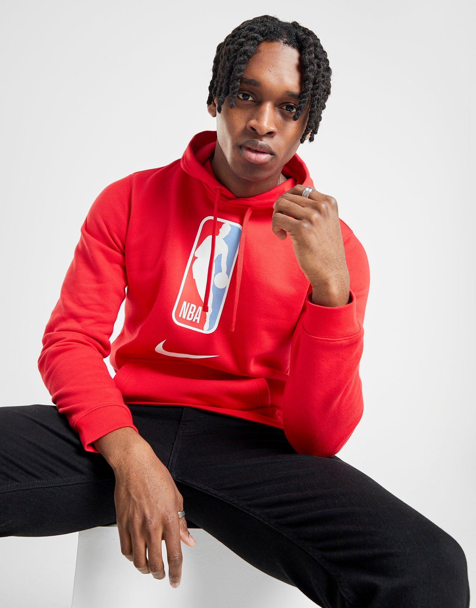 Acquista Nike NBA Team 31 Felpa con cappuccio in Rosso | JD