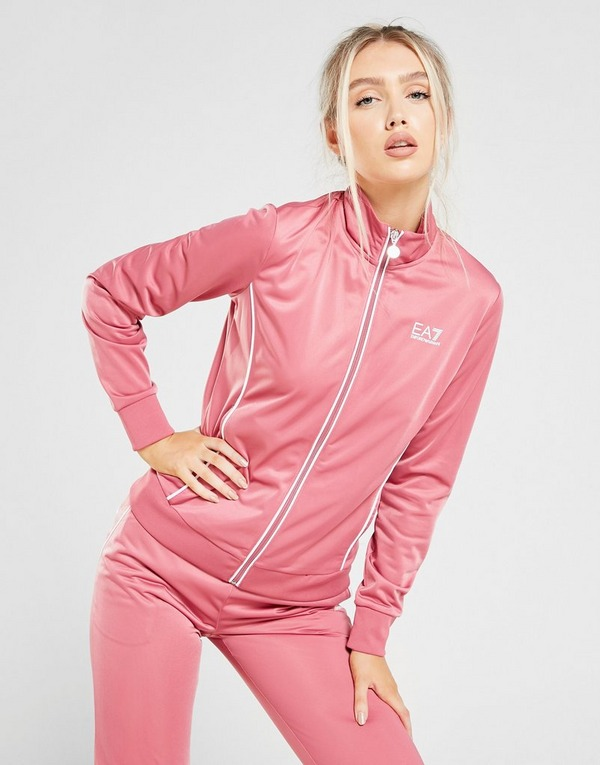 Emporio Armani EA7 Poly Full Zip Tracksuit Dame