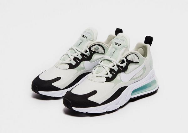 Shoppa Nike Air Max 270 React Dam i en Vit färg   JD Sports
