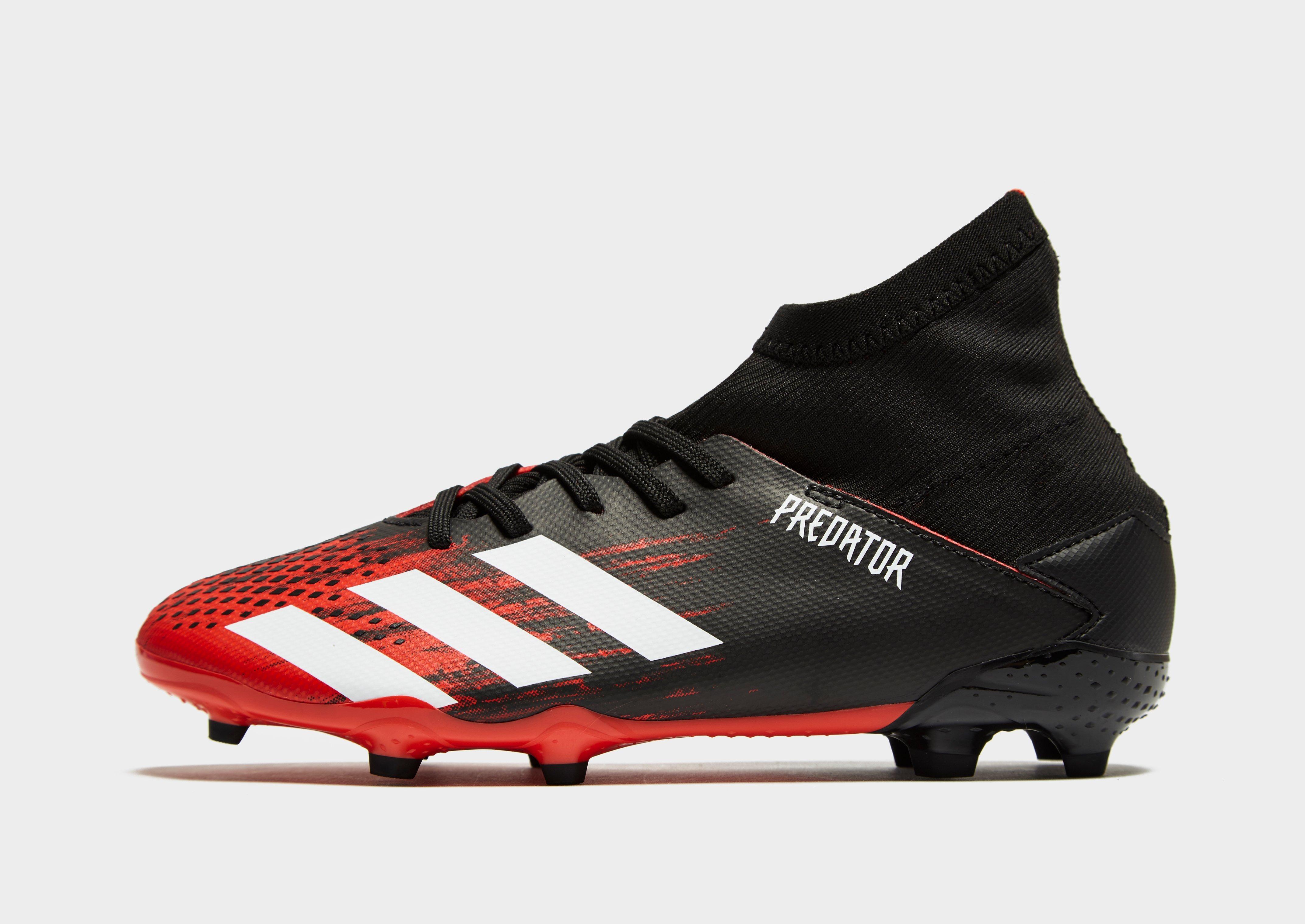 Buy Black adidas Mutator Predator 20.3 FG Junior | JD Sports