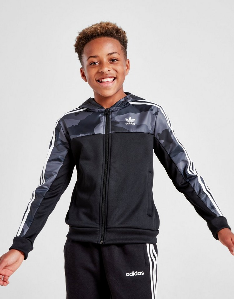 adidas Originals Spirit Camo Full Zip Hoodie Junior