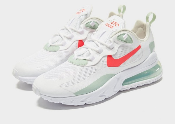 air max 270 react bianche