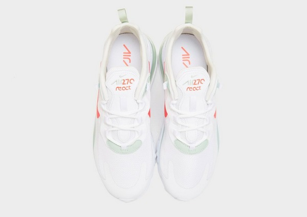 air max 270 react donna bianche