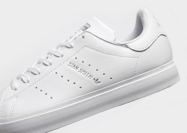 Koop White adidas Originals Stan Smith Vulc Junior | JD Sports