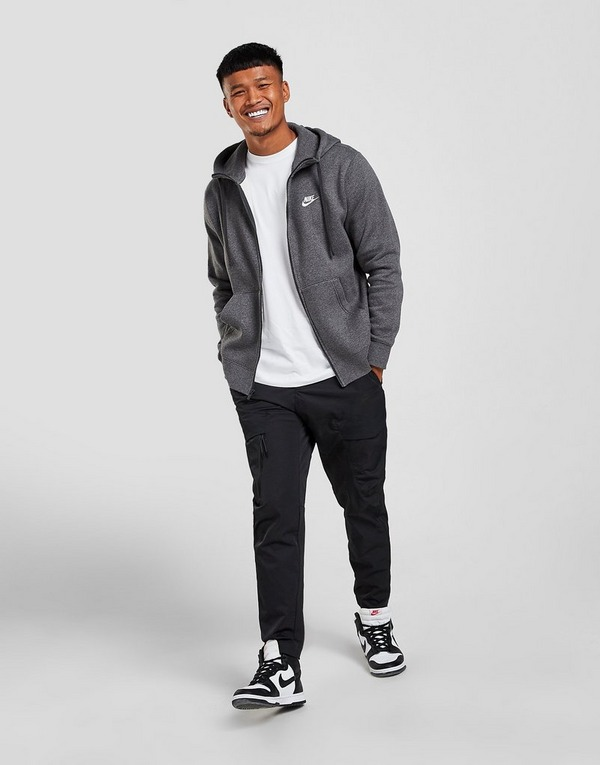 Shop den Nike Foundation Hoodie Herren in Grau   JD Sports