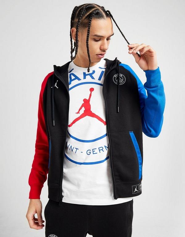 Jordan x Paris Saint Germain Fleece Full Zip Hoodie