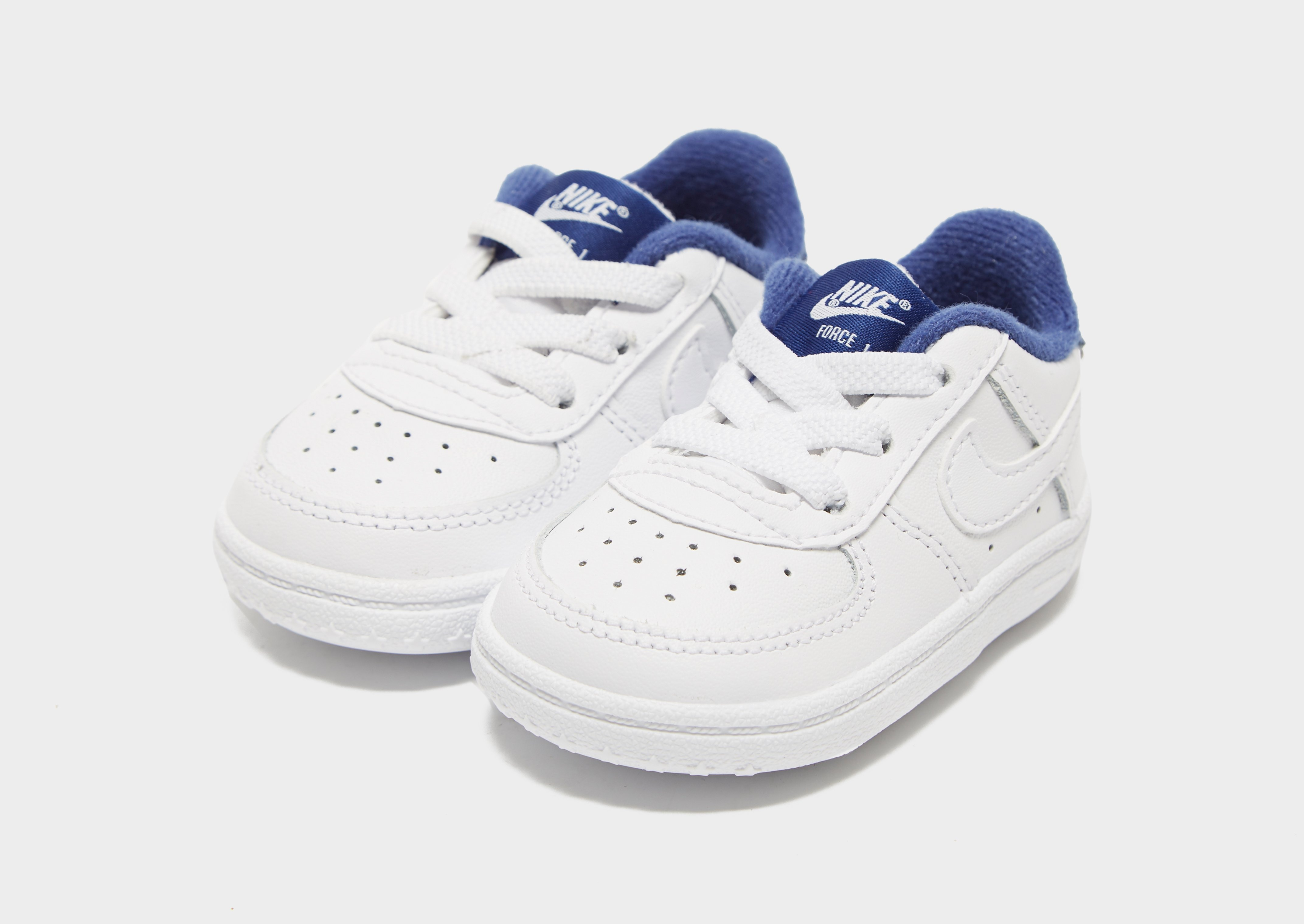 nike white air force 1 crib shoes baby