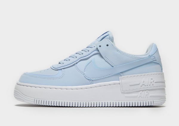 Koop Blauw Nike Air Force 1 Shadow Sneakers Dames | JD Sports