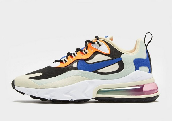 Acquista Nike Air Max 270 React Donna in Celeste | JD Sports