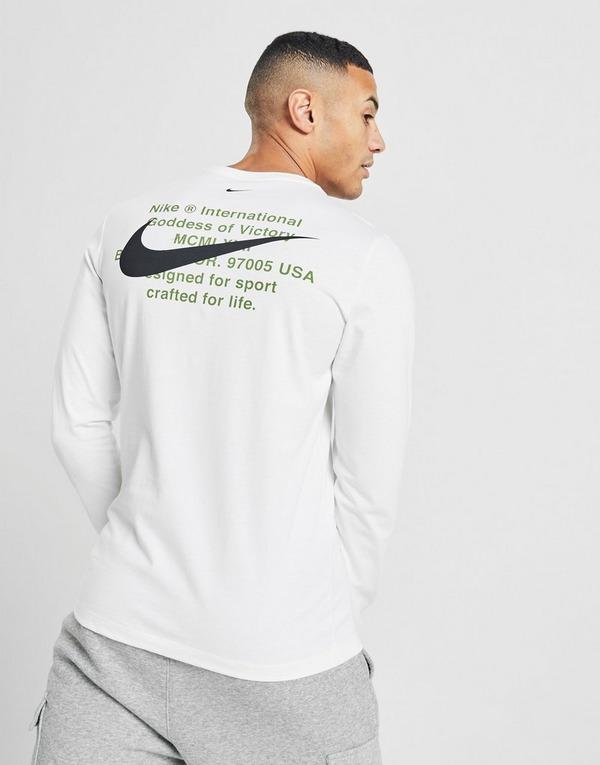 tee shirt manches longues nike swoosh