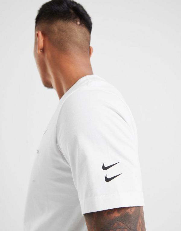 Acheter White Nike T Shirt Swoosh Homme