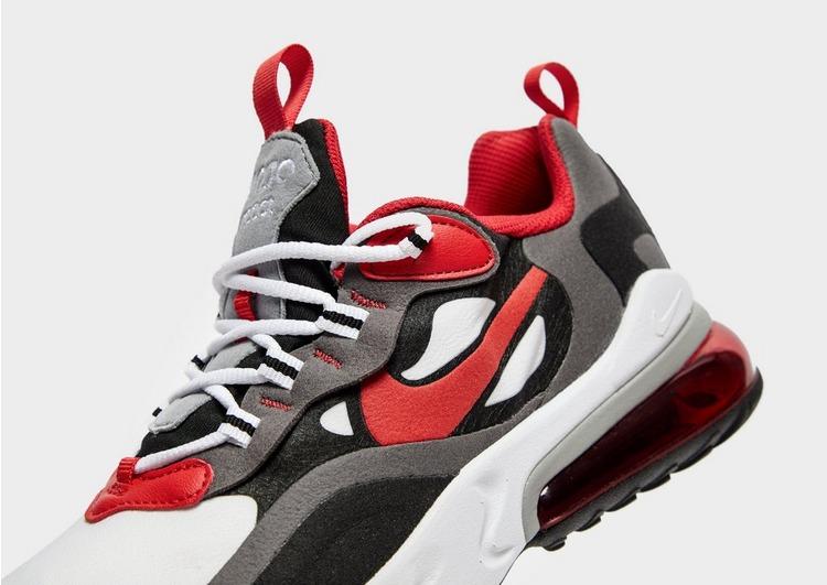 Acquista Nike Air Max 270 React Bambino in Nero | JD Sports