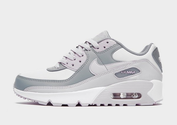 Shop den Nike Air Max 90 Leather Kinder in Grey | JD Sports