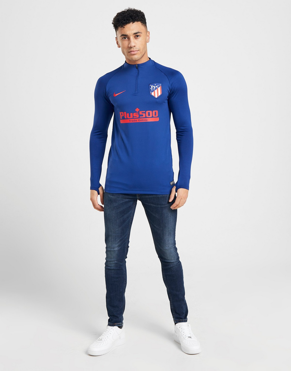 Nike Atletico Madrid Fc Strike Drill Top