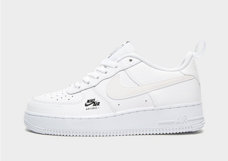 Buy White Nike Air Force 1 Utility Junior JD Sports  JD Sports
