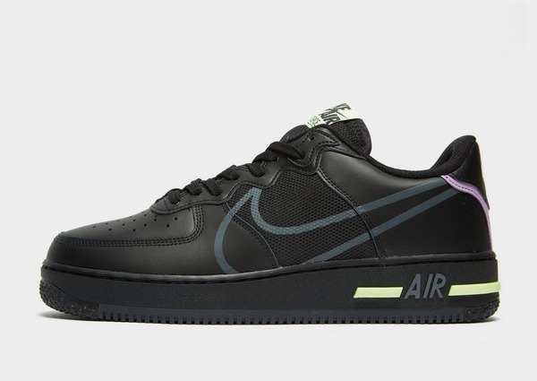 Acquista Nike Air Force 1 React in Nero