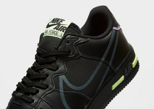 Acquista Nike Air Force 1 React in Nero | JD Sports