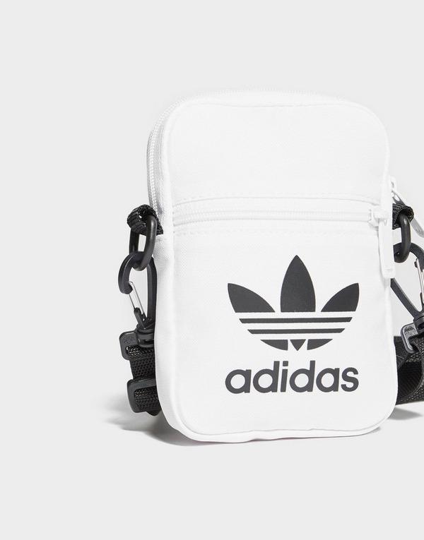 Køb adidas Originals Trefoil Festival Bag i Hvid | JD Sports