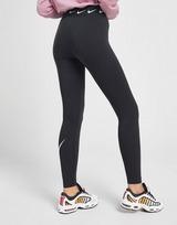 Nike High Waisted Single Swoosh Leggings