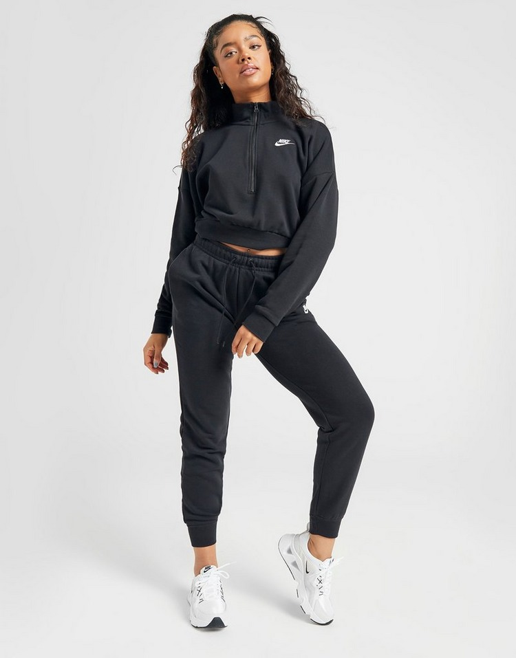 Nike Essential Crop 1/4 Zip Sweatshirt Dame