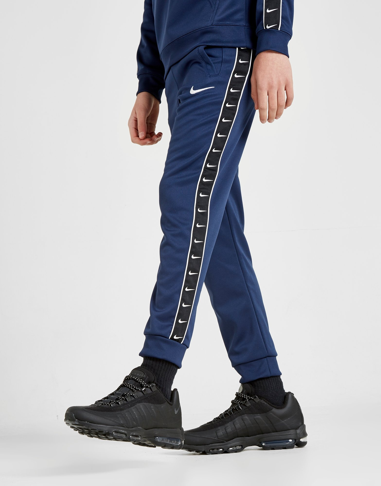 Nike Tape Poly Joggingbukser Junior | JD Sports