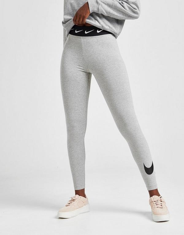 Koop Grijs Nike High Waisted Single Swoosh Leggings Dames