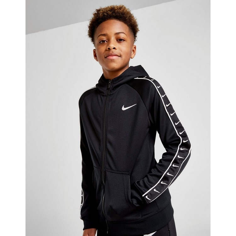 Nike Tape Poly Full Zip Hoodie Junior