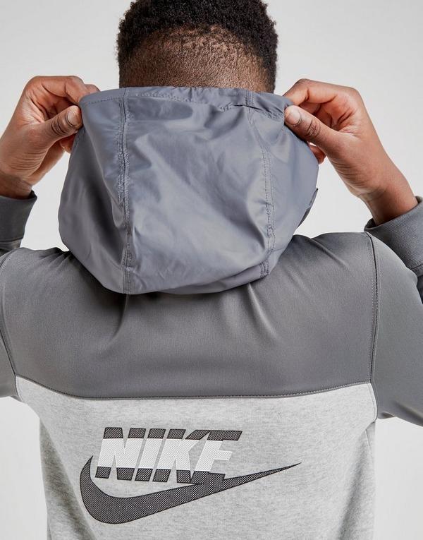 Nike Hybrid Full Zip Fleece Hoodie Junior