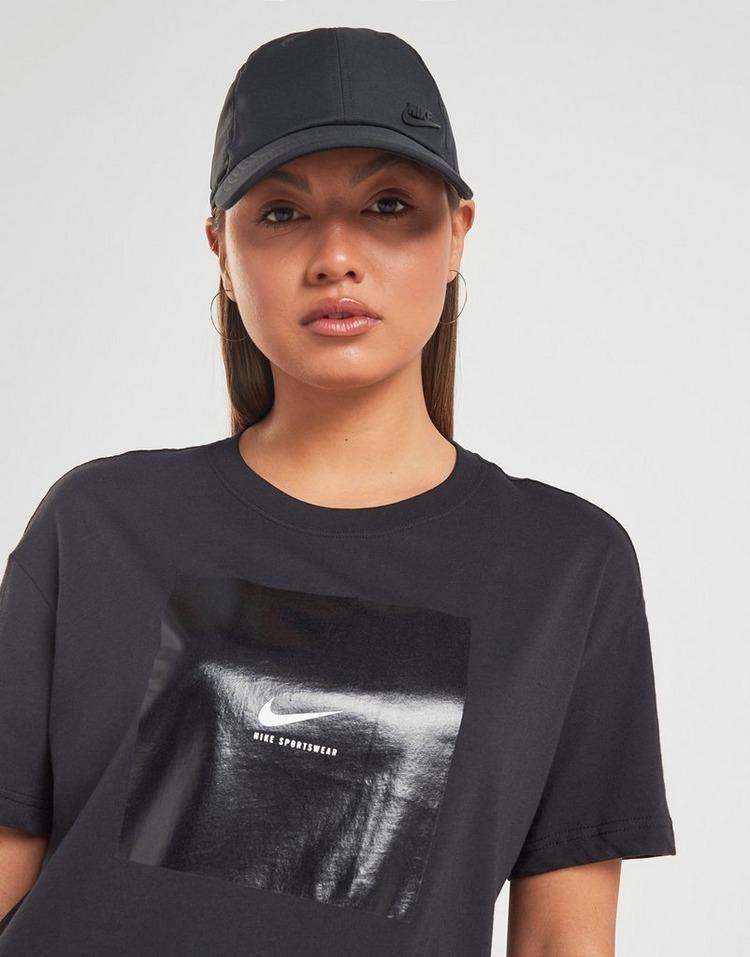 Acheter Black Nike T shirt Box Femme | JD Sports