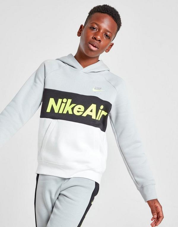 Acquista Nike Air felpa con cappuccio Junior in Grigio   JD