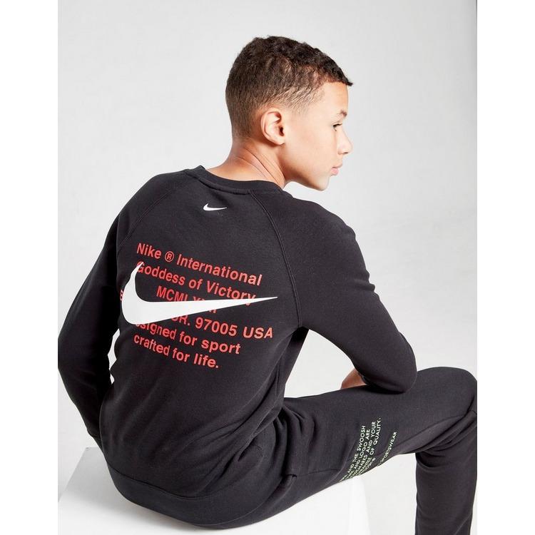 Nike Swoosh Crew Sweatshirt Junior