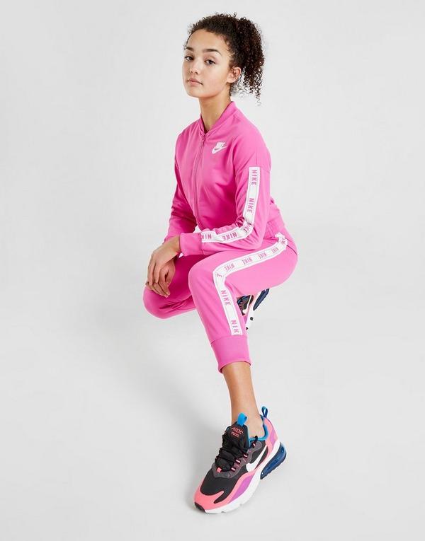 Acheter Pink Nike Ensemble de Survêtement Fille Tricot