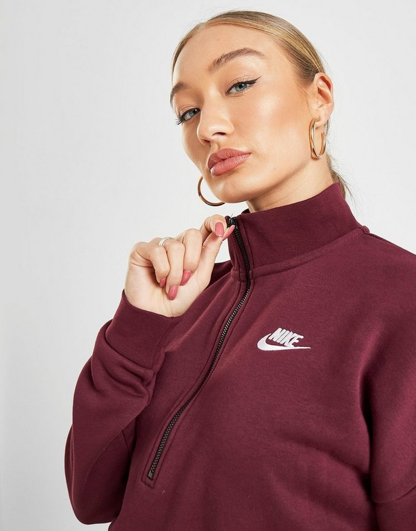 Acquista Nike Essential Crop Felpa Donna in Grigio | JD Sports