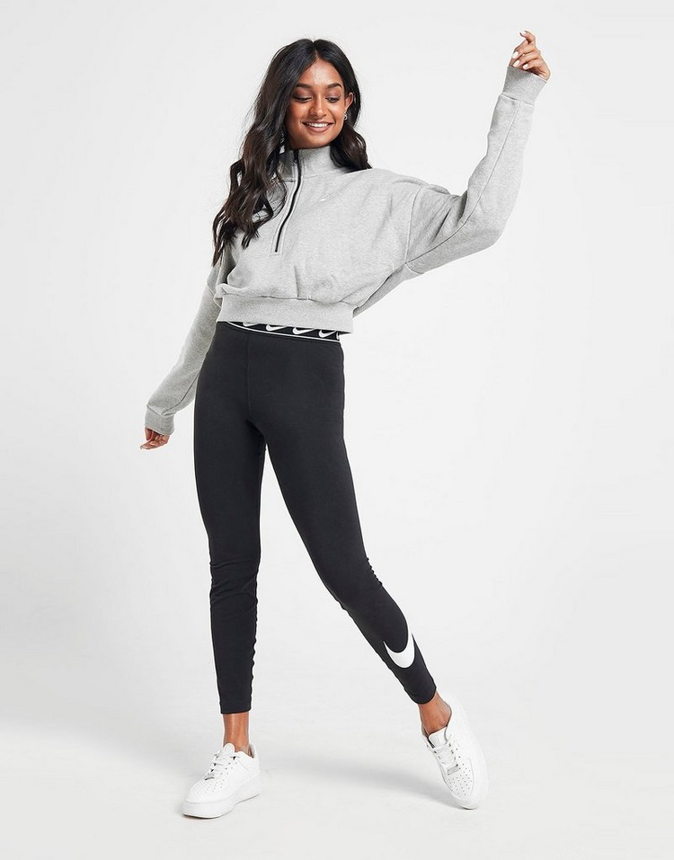 Nike Essential Crop 1/2 Zip Sweatshirt Dame