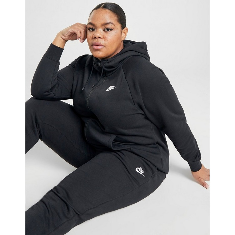 Nike Essential Full Zip Plus Size Hoodie