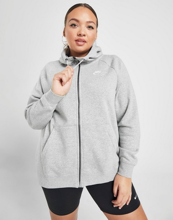 Nike Sweat à capuche Essential Zippé Plus Femme