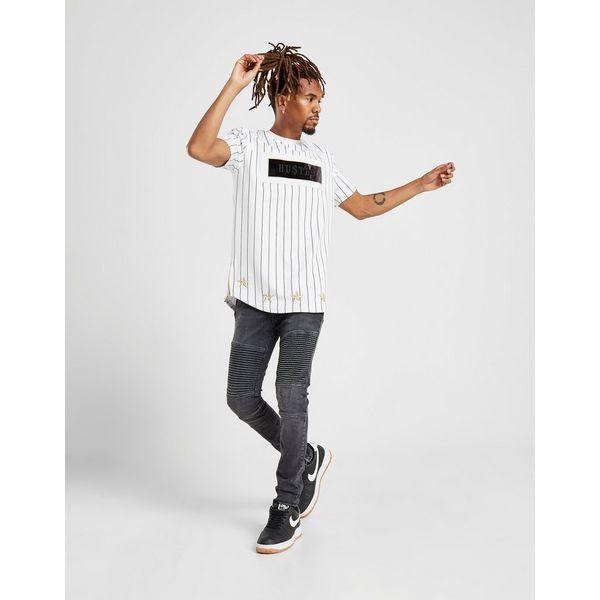Supply & Demand Roll Pinstripe T-Shirt