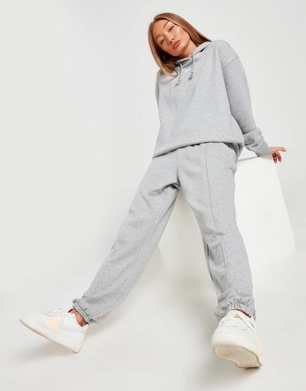 Nike Pantalon De Chandal Swoosh En Gris Jd Sports