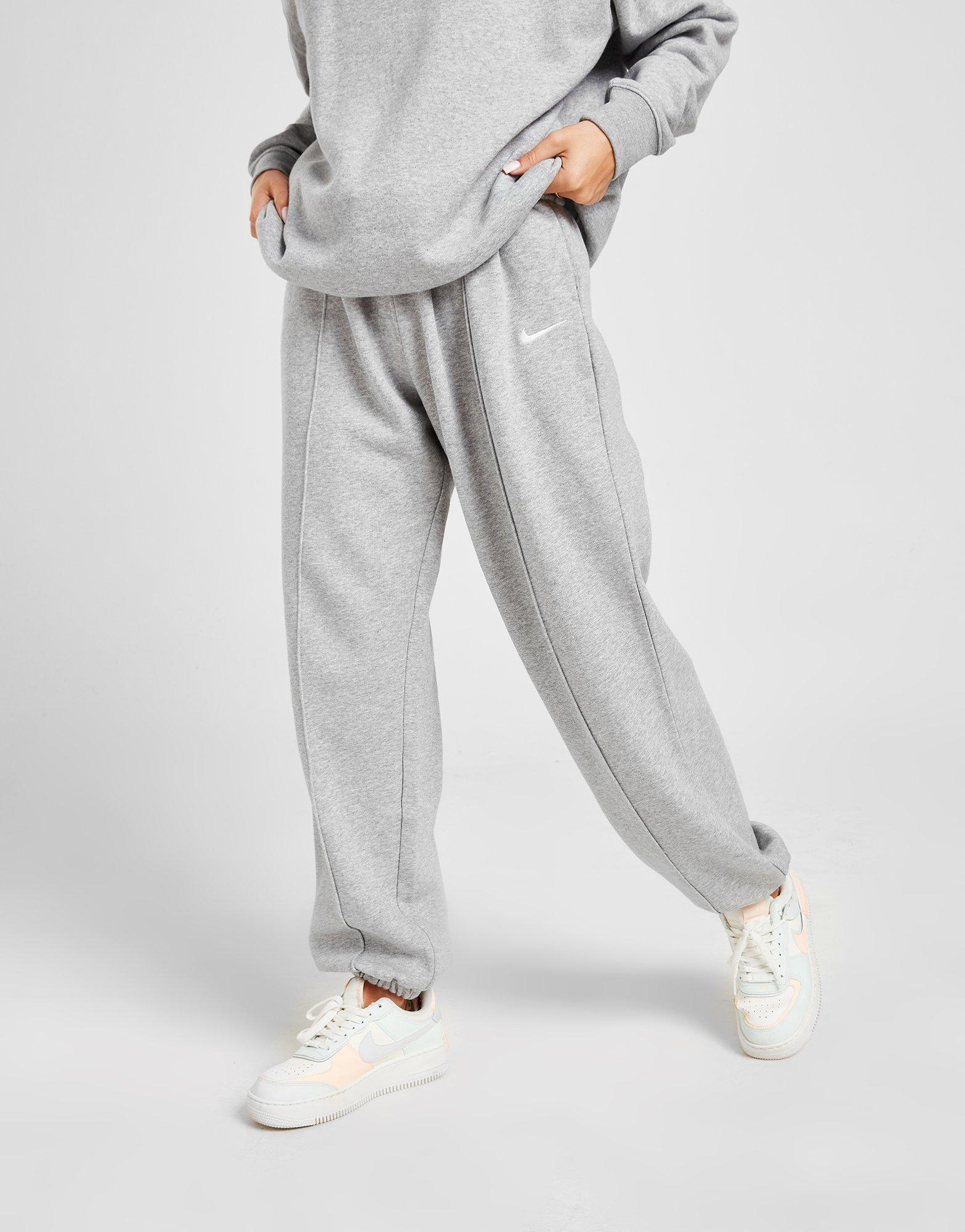 Acheter Gris Nike Jogging Swoosh Fleece Femme