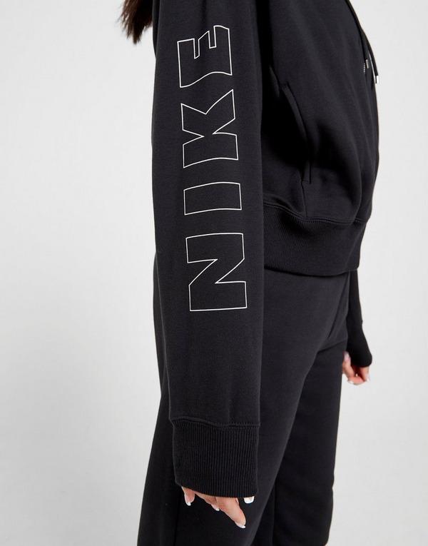 Acquista Nike Air Crop Felpa con cappuccio Donna in Nero