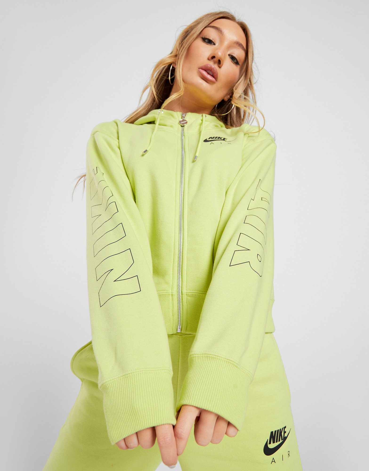 Acherter Vert Nike Sweat à capuche Full Zip Air Femme | JD